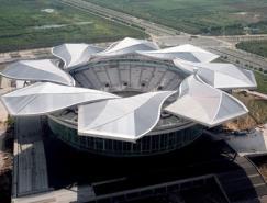 动态建筑:上海旗忠森林体育城网球中心