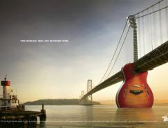 Taylor吉它平面廣告設計