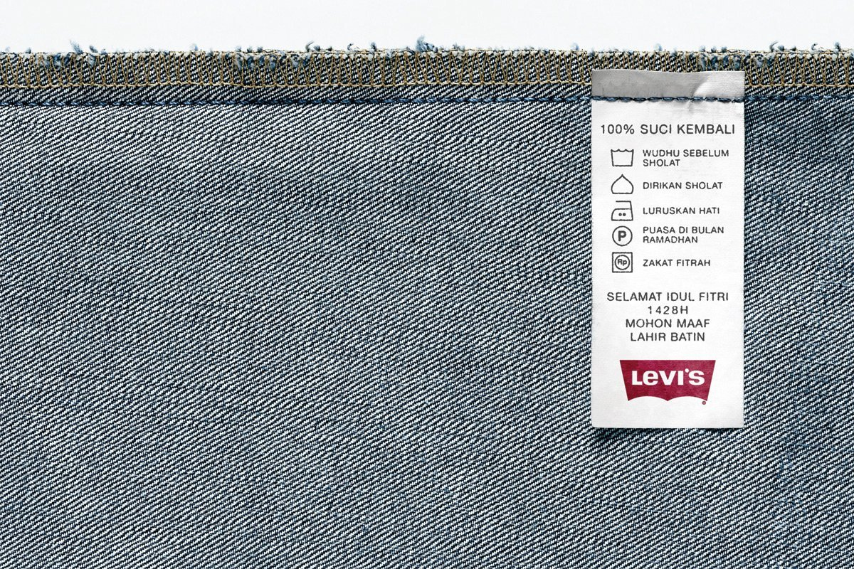 Levis牛仔裤广告设计