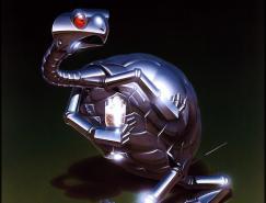 金属动物:HajimeSorayamaCG作品欣赏