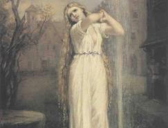 英国新古典主义画家约翰•威廉姆•沃特豪