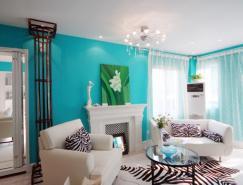 清新藍色家居裝修設計
