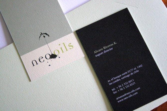 neooils名片设计