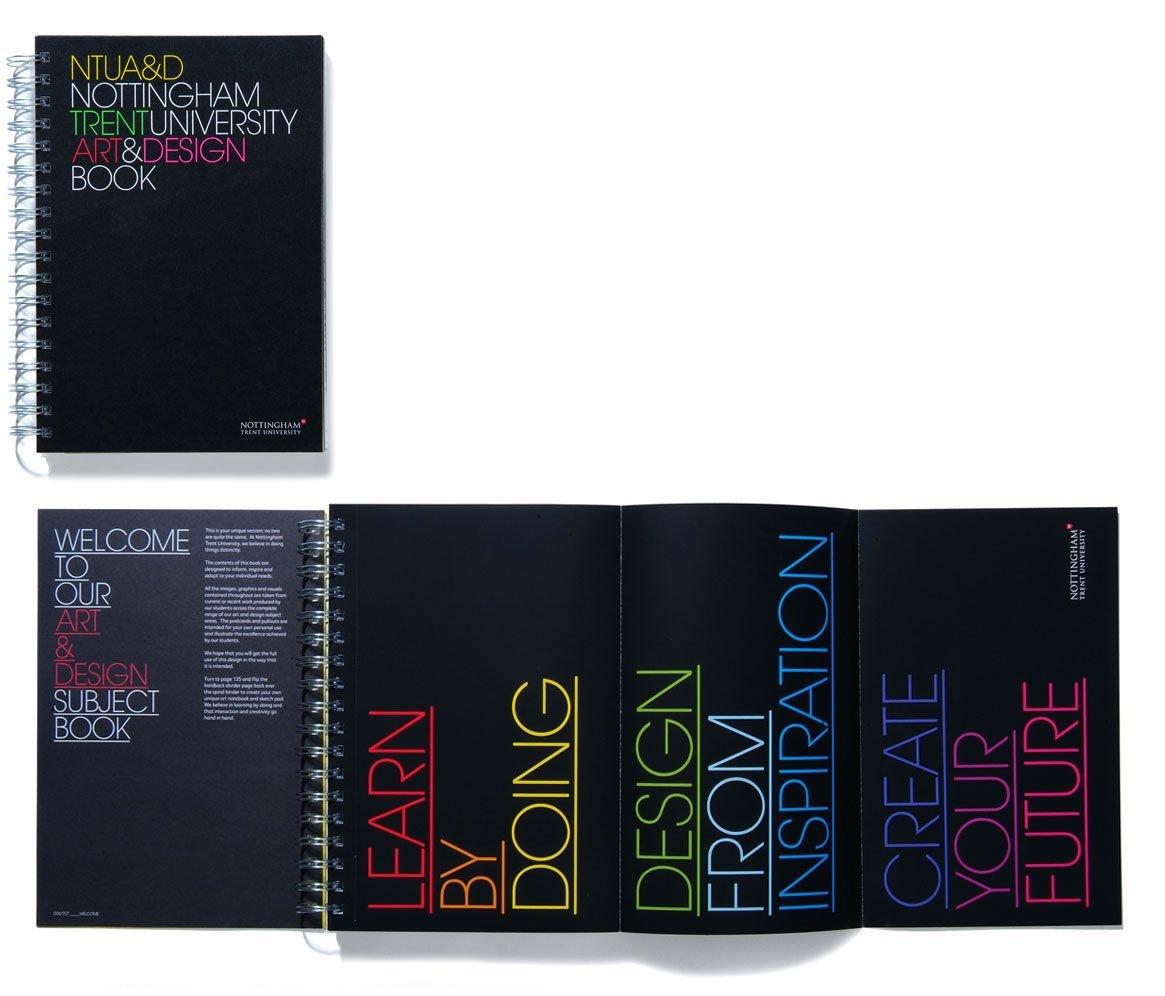 ntu艺术设计公司宣传手册设计 - 设计之家