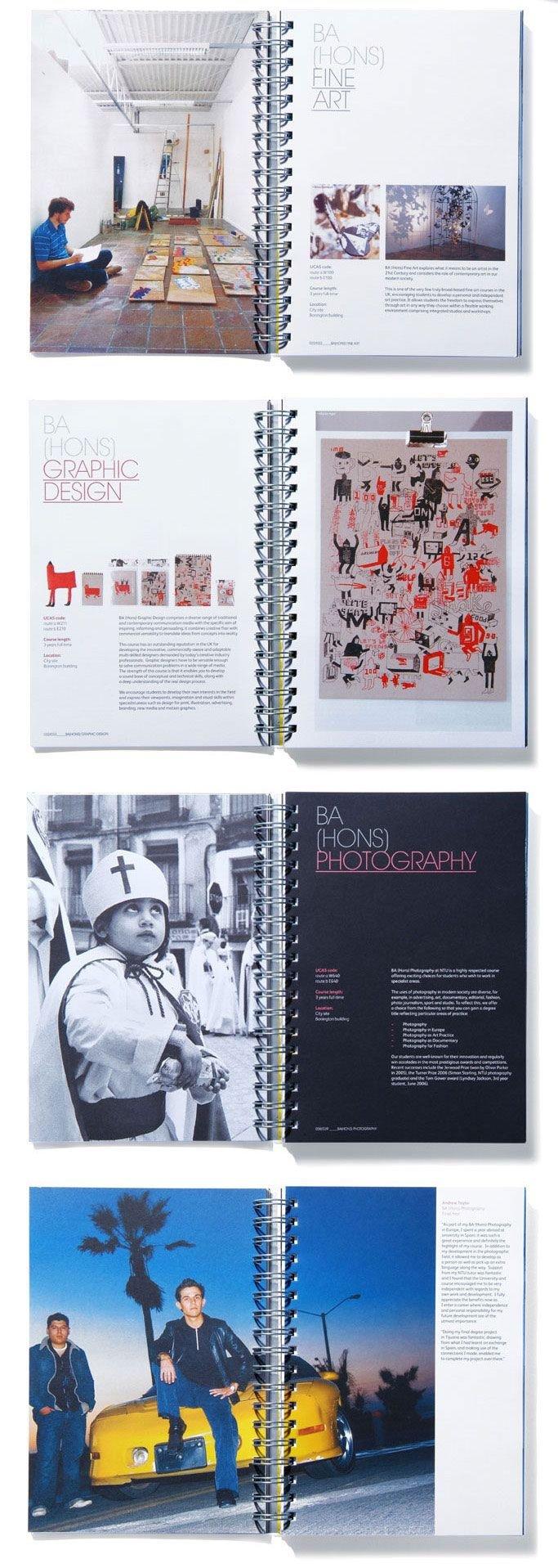 NTU艺术设计公司宣传手册设计