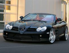 2008Mercedes-BenzSLRMclarenRoadster跑