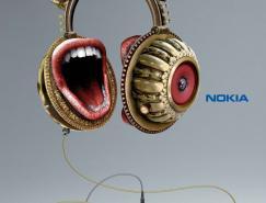 NOKIA音樂手機平面廣告設計