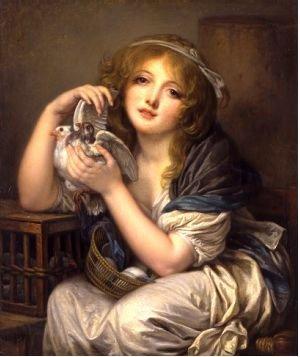 法国著名画家让-巴蒂斯特・格勒兹(Jean-Bapt