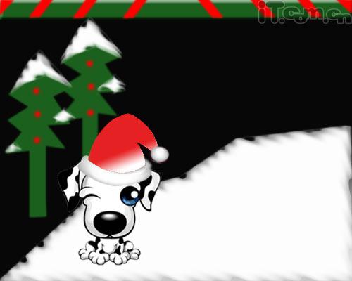 Photoshop制作圣诞贺卡教程