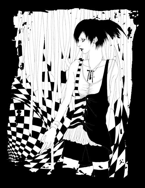 日本插画师的黑白插画欣赏(5)