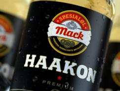 mack啤酒包裝設計