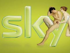 SKY天空电视台广告设计