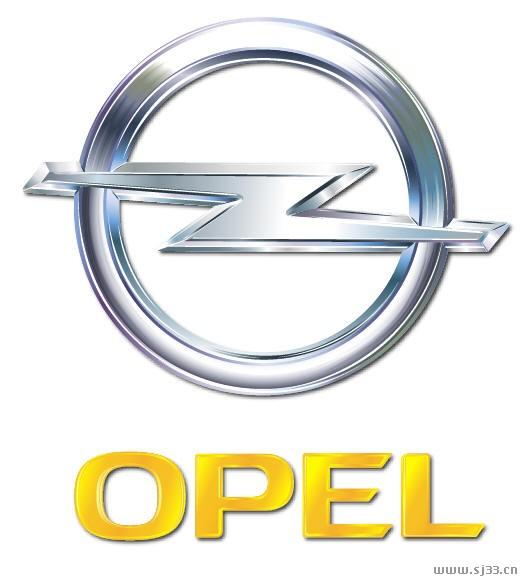 opel欧宝汽车标志矢量图 - 设计之家
