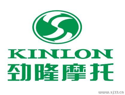 kinlon劲隆摩托标志矢量图