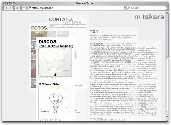DimitreLima网页设计欣赏
