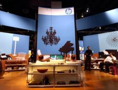 2008年国际消费电子展(CES)惠普展台设计