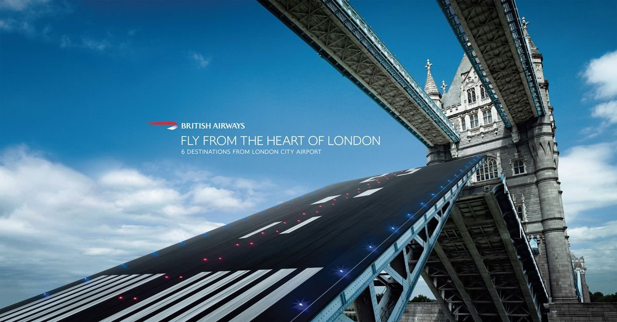 BritishAirways(英国航空)平面广告欣赏