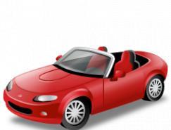 多种3D交通工具PNG图标