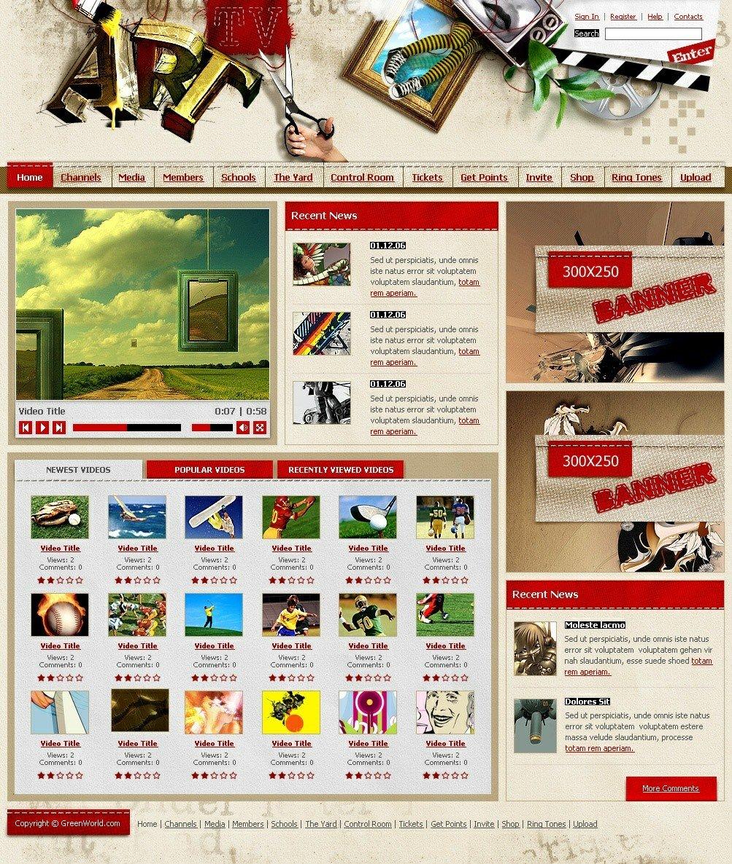 e1k优秀网页设计模板(一)(8) - 设计之家