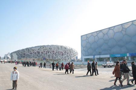 国家游泳中心(水立方)设计欣赏