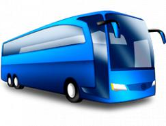 旅游大客车PNG图标