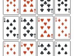 扑克矢量图下载