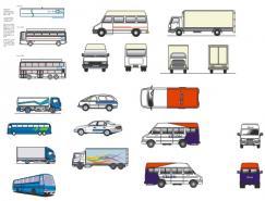 多种矢量汽车下载