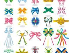 30种蝴蝶结矢量素材