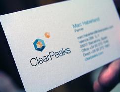 ClearPeaks品牌VI设计