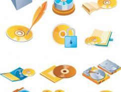 多种CD-DVD矢量素材