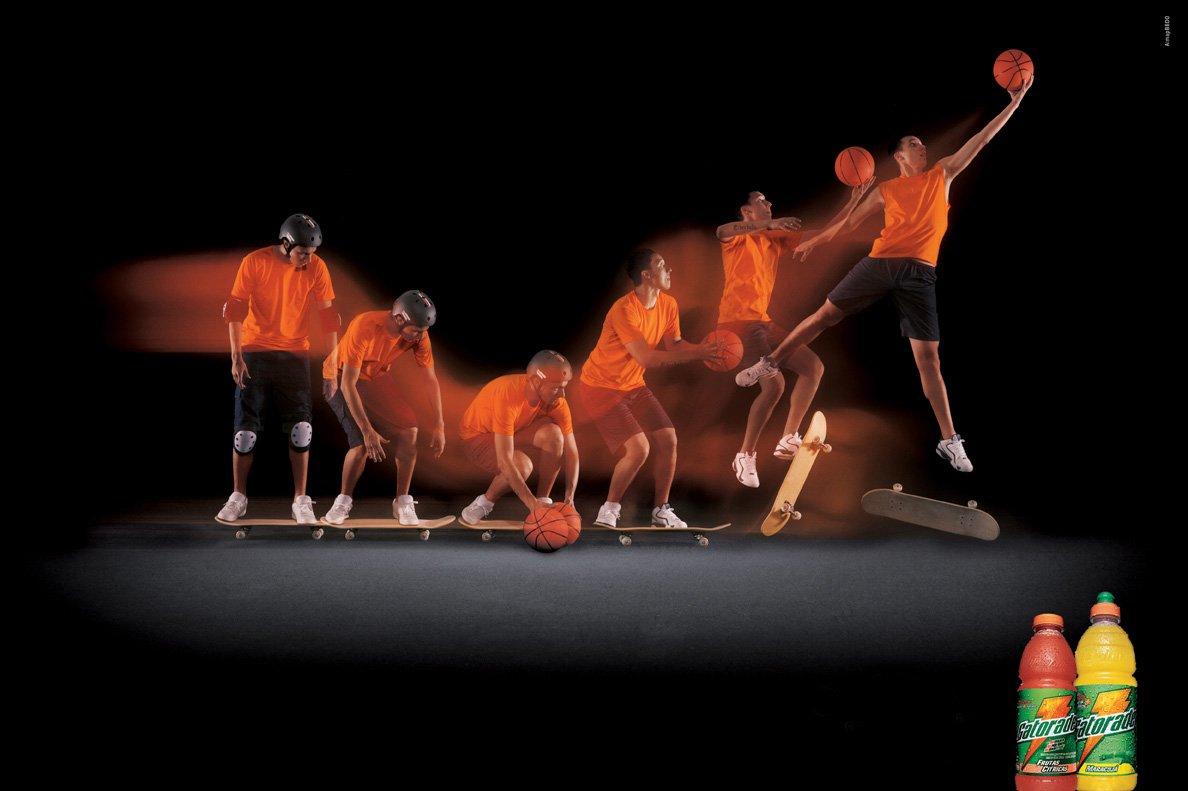 gatorade饮料平面广告设计图片