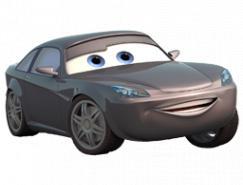 電影《汽車總動員》卡通汽車PNG圖標