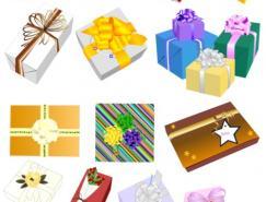 15款精美礼品盒矢量素材