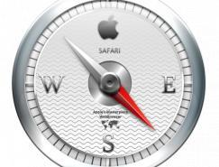 苹果风格指南针PNG图标512X512