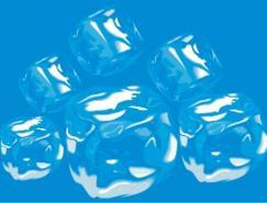 冰块矢量素材下载
