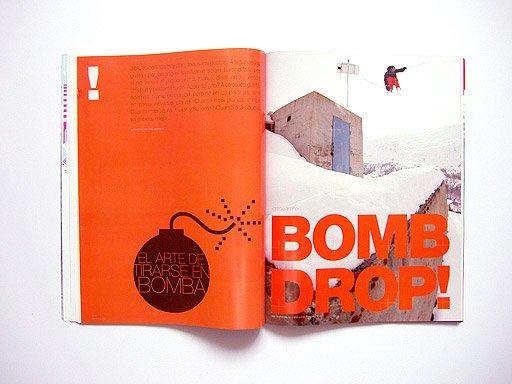 滑雪杂志SkiRevolution版式设计