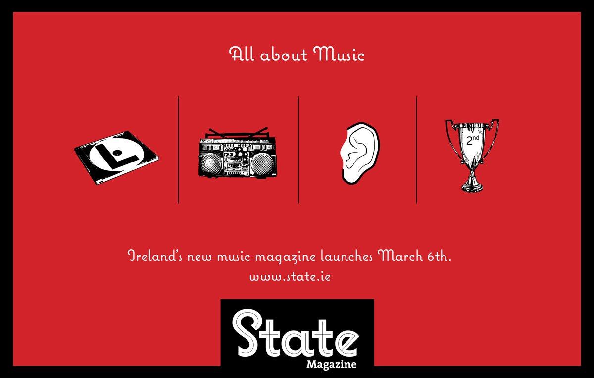 state音乐杂志平面广告欣赏