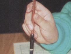 书法基础:执笔方法