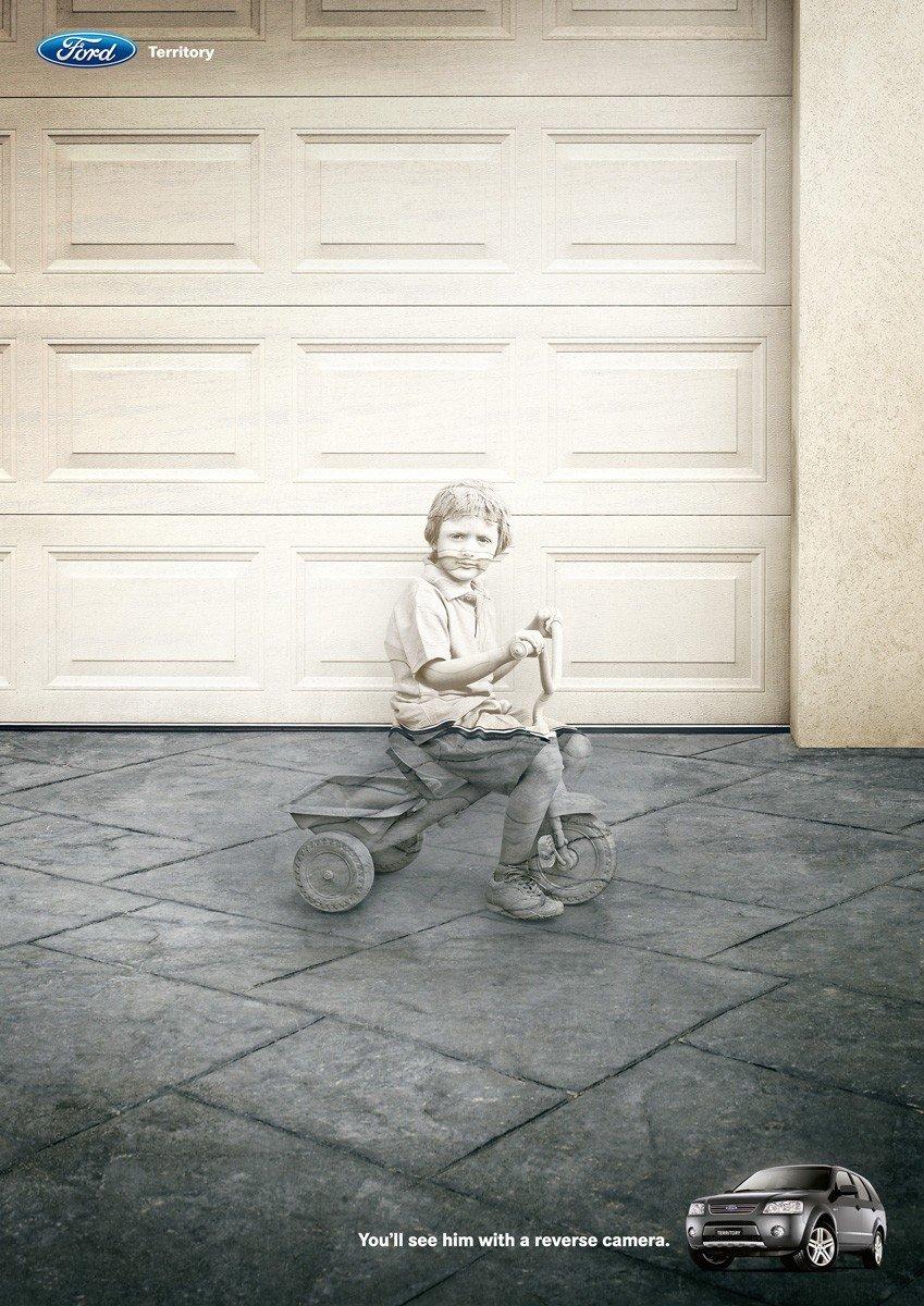 福特Territory汽车创意广告欣赏