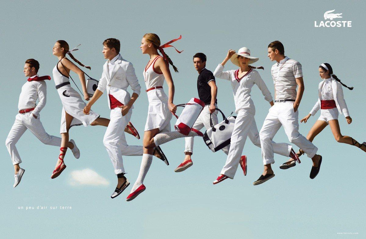 服装品牌LACOSTE创意广告欣赏