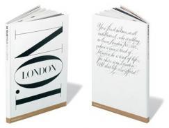 伦敦时尚杂志版式设计