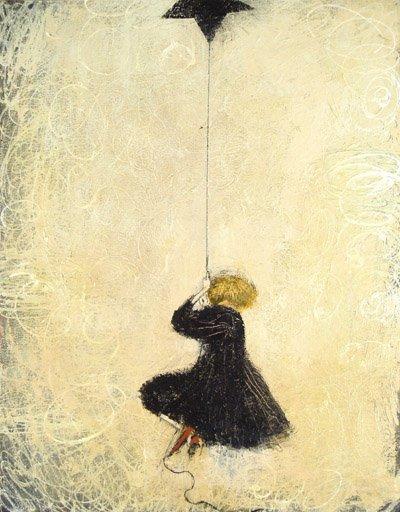 星形风筝故事绘本插画 - 设计之家