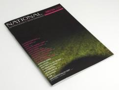 national杂志版面设计