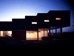 Nakagame設計的Sendai-Kasumi別墅