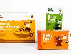 FULLTANK婴儿食品包装设计