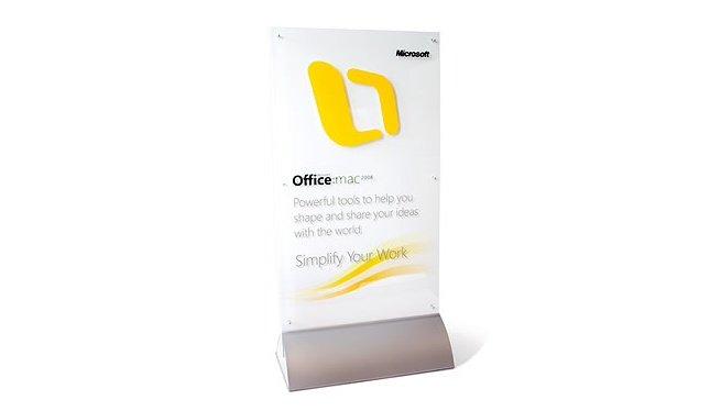 MicrosoftOfficeforMac宣传物料设计