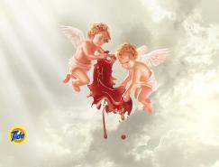 天使篇:TIDE平面广告