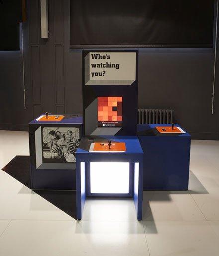 伦敦科技馆室内展厅设计