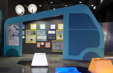 伦敦科技馆室内展厅设计(3)