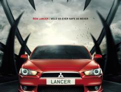 三菱LANCER汽车广告